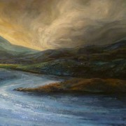Foinaven from loch Borralie