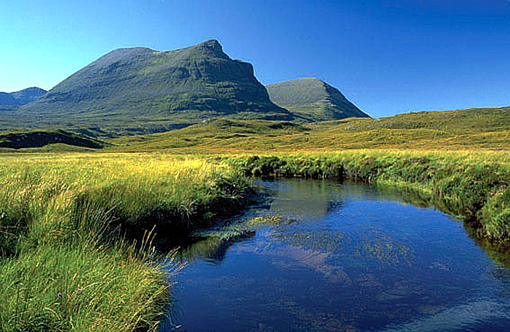 quinag from unapool burn