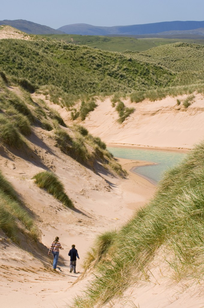 walking among dunes, faraid head